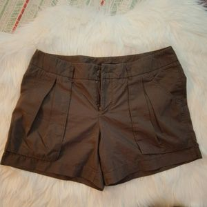 Womens Brown Mossimo Shorts